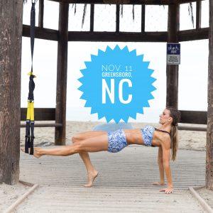 Greensboro North Carolina master pilates class california Suspension Method workout workshop